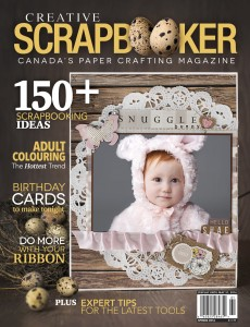 Canadian Scrapbooker SPRING 2016 Front Cover