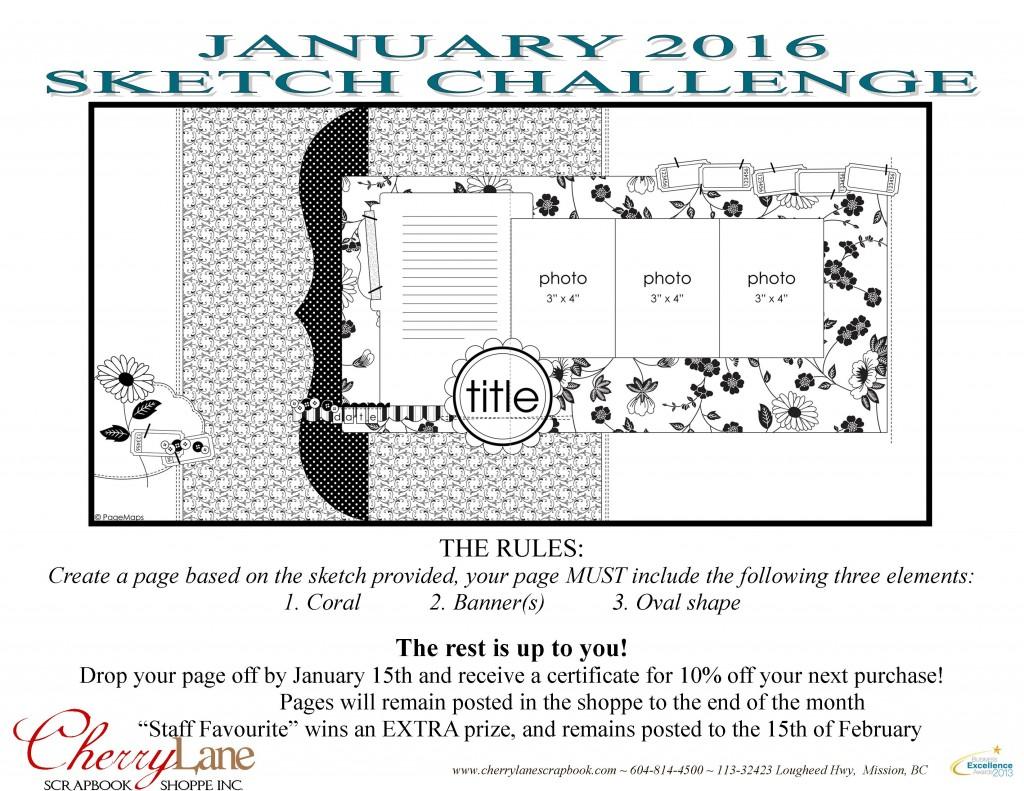 January 2016 Sketch Challenge