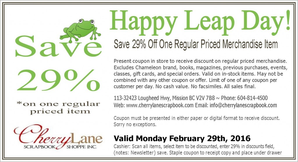 Leap Day 29%