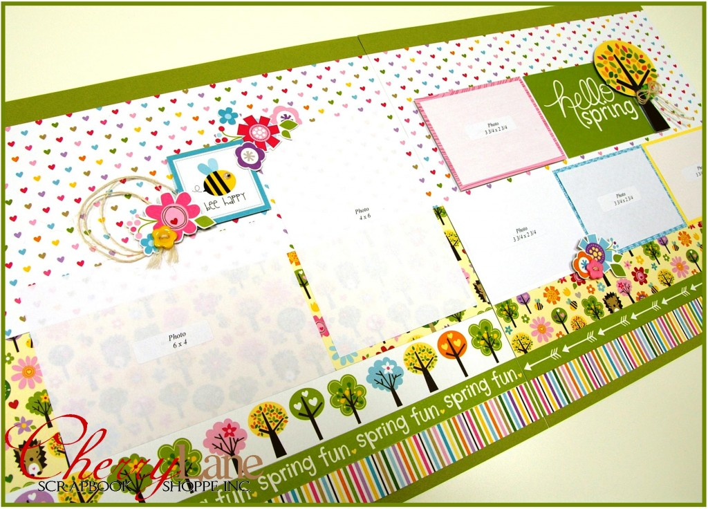 Cherry Lane Catch Up Kit March 2016 - Hello Spring