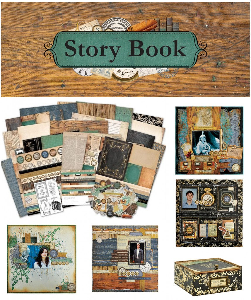 Story Book collage 2