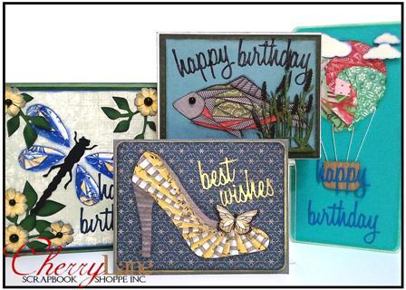 Iris Fold Cards