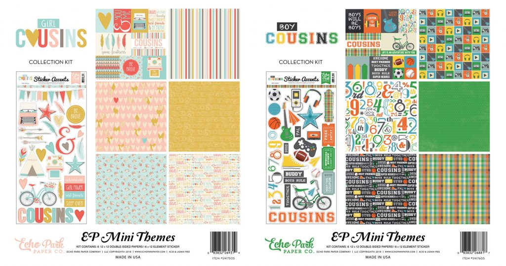 EP Cousins kits boy & girl