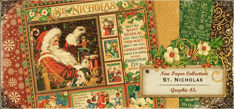 Graphic 45 St Nicholas Banner