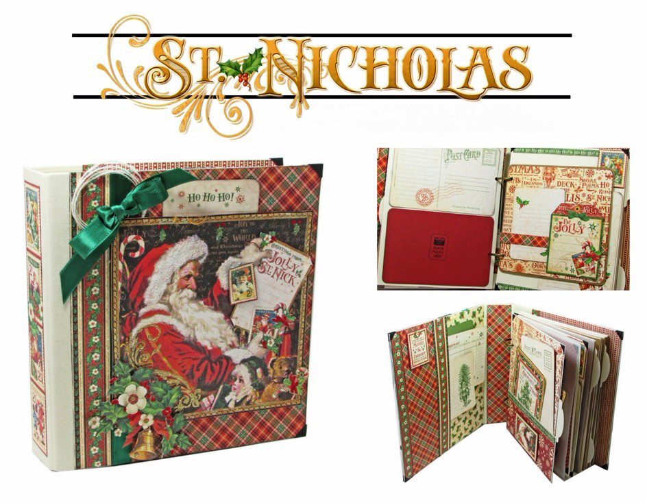 st-nicholas-mixed-media-album