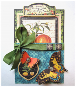G45 Nature Sketchbook Gift Card Holder
