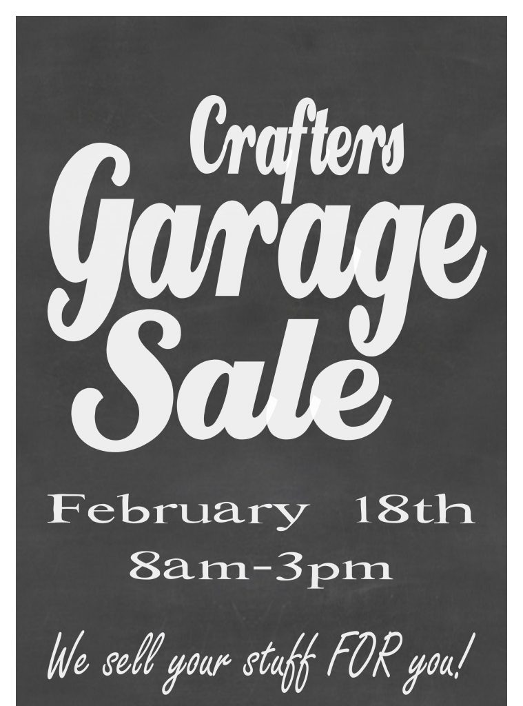 Garage Sale Feb 2017 short