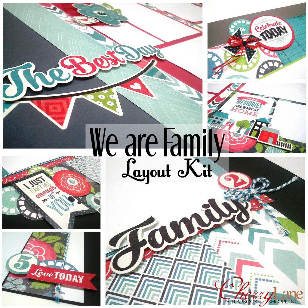 We Are Family Page Kit sneak peek
