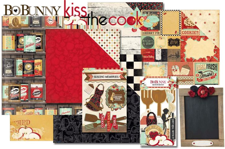 BB Kiss the Cook collage