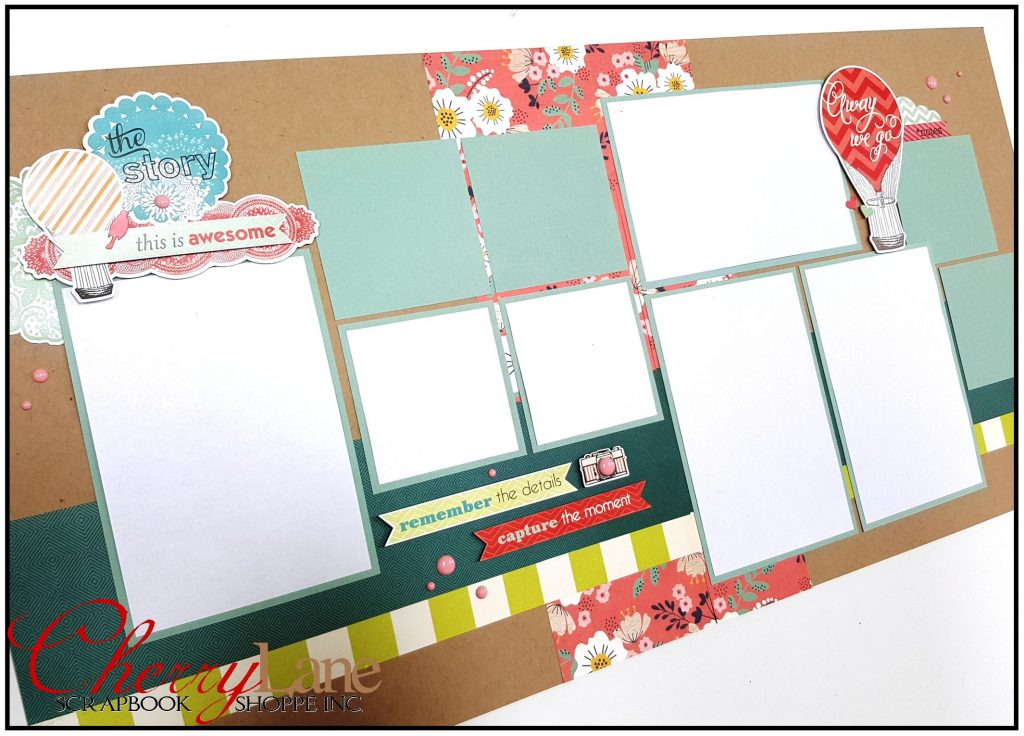 Everyday Eclectic Layout #1 sneak peek