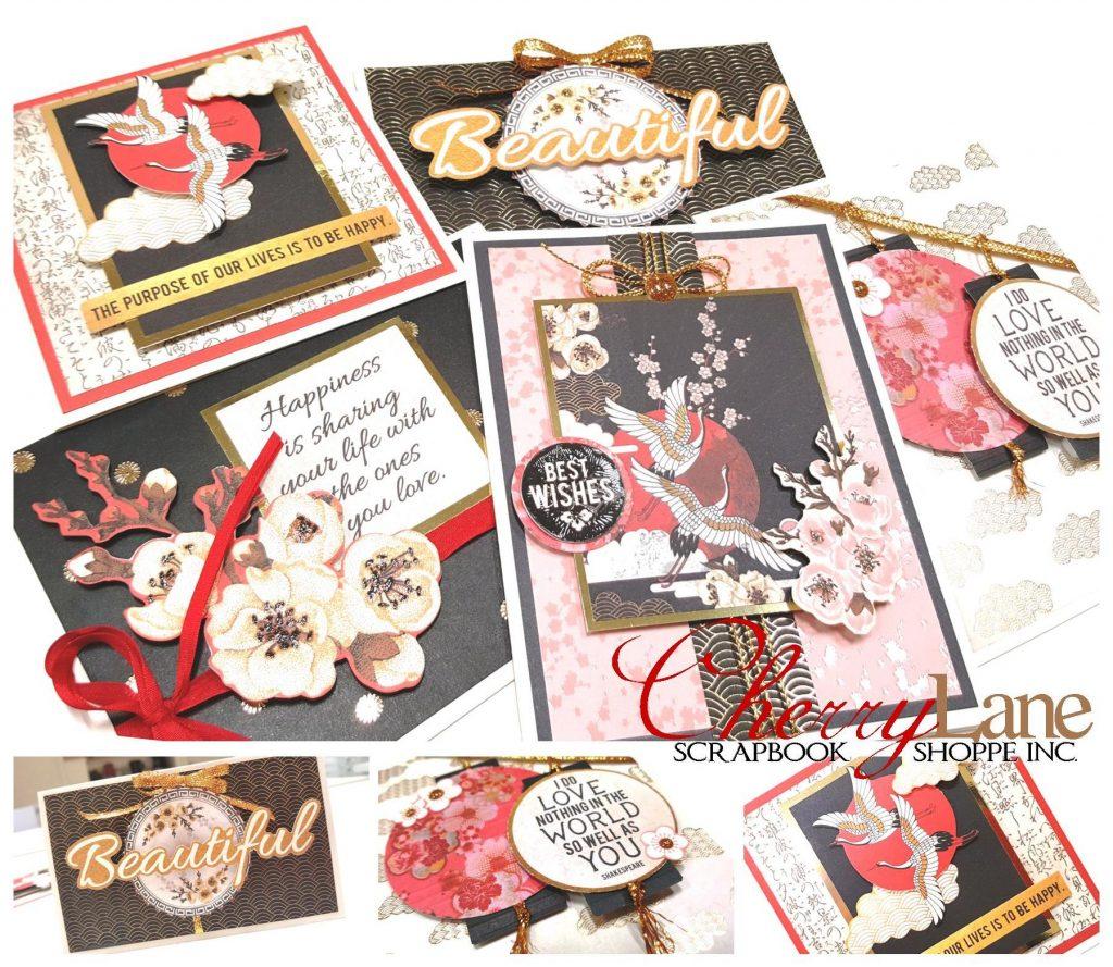 Hanami Garden Cards