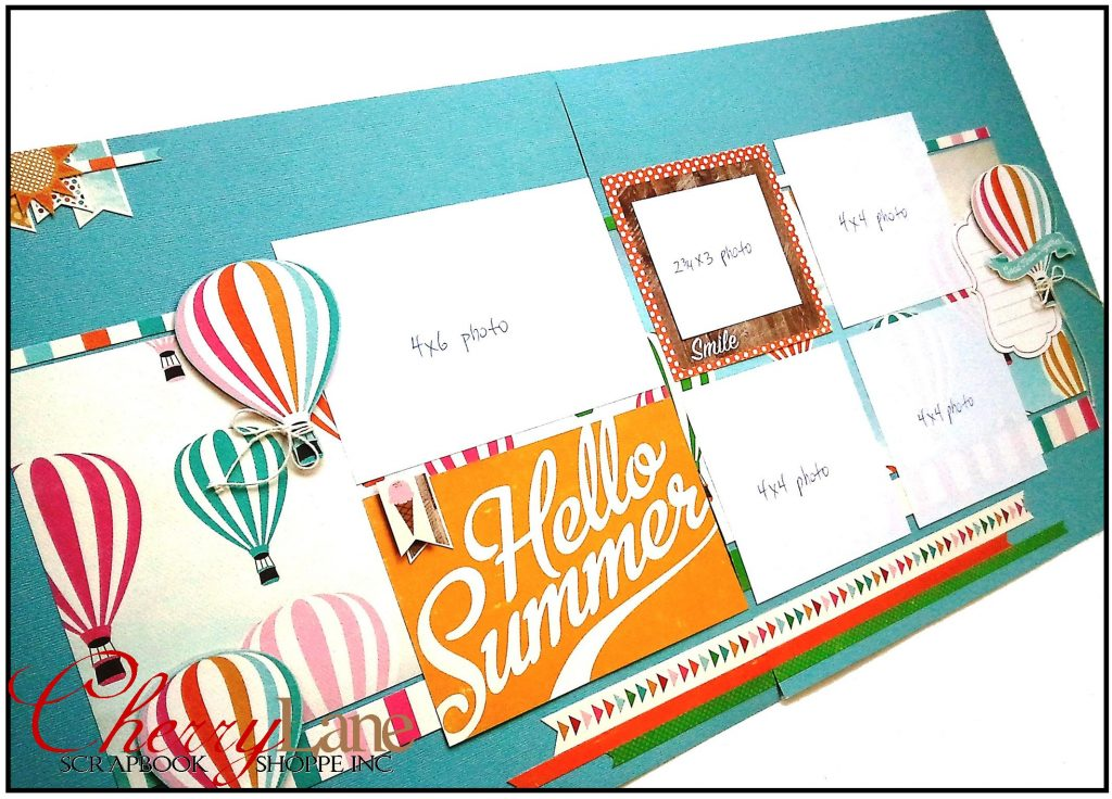 Layout #2 Hello Summer Sneak Peek