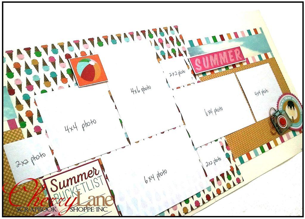 Layout #3 Summer Bucket List Sneak Peek