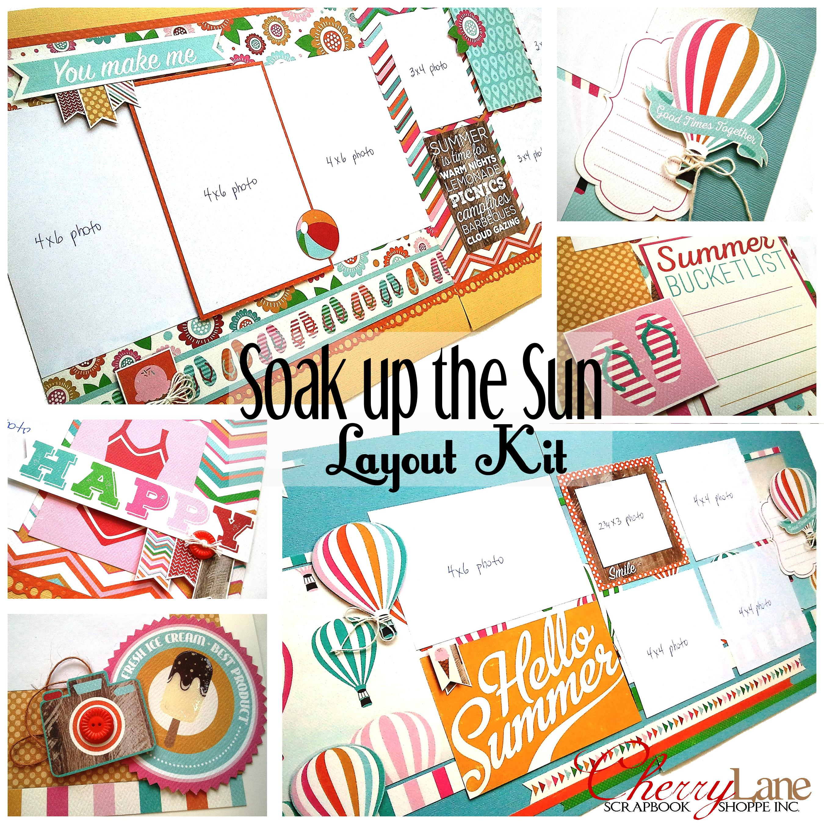 Soak Up the Sun Page Kit sneak peek