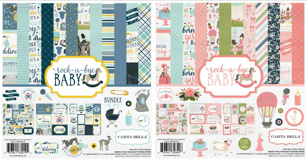 CB Rock-a-Bye Baby Boy & Girl kits