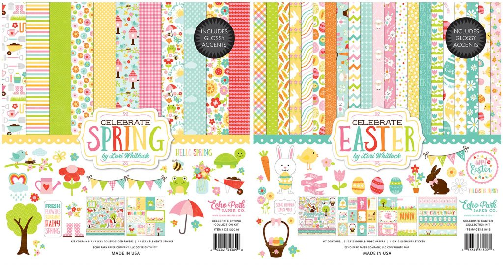Echo Park Spring & Easter Collection Kits