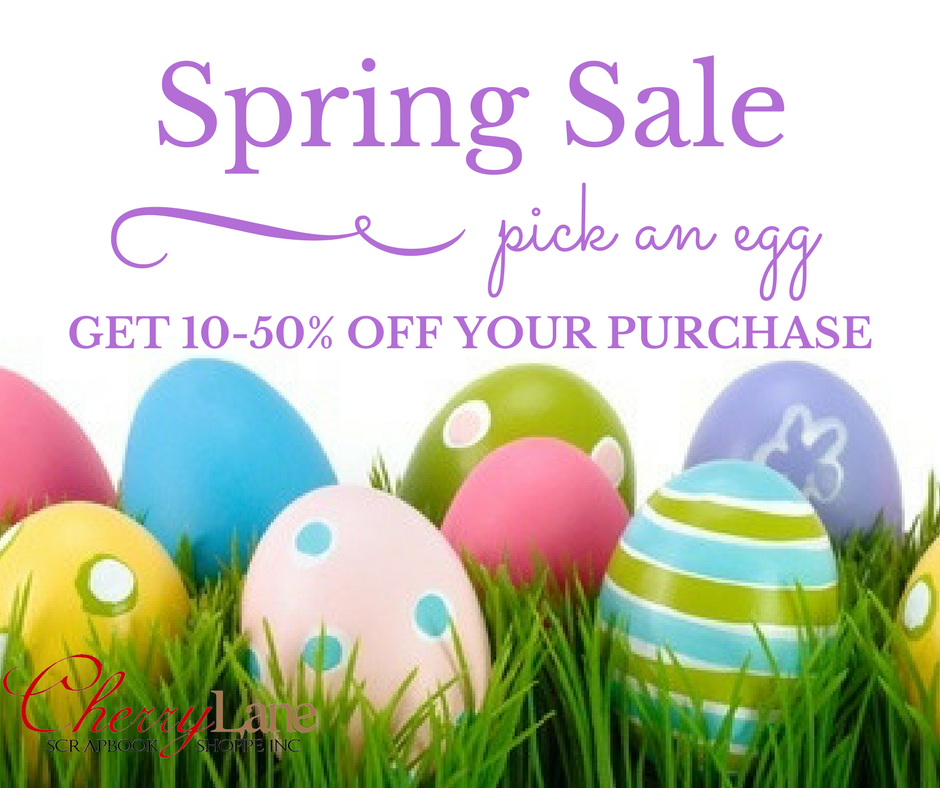 Spring Sale, pick an egg