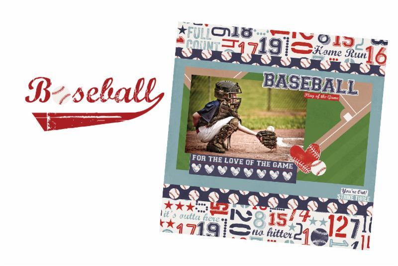 SS Simple Set Baseball