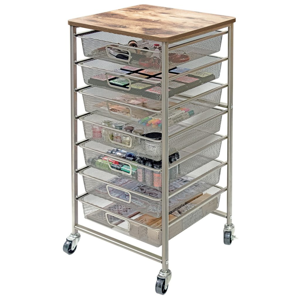 Tim Holtz Industrial Storage Cart