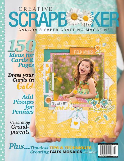 Creative Scrapbooker Summer 2017 Front Cover