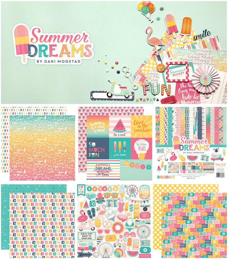 Echo Park Summer Dreams collage