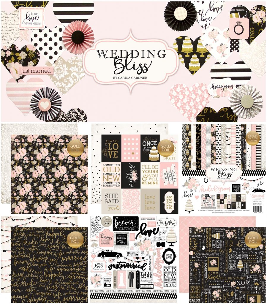 Echo Park Wedding Bliss collage