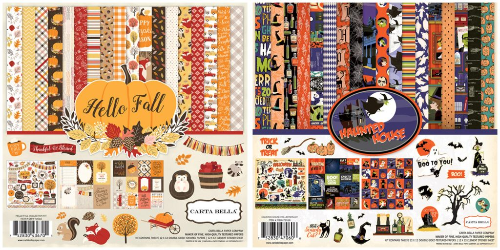 CB Kits Hello Fall & Haunted House