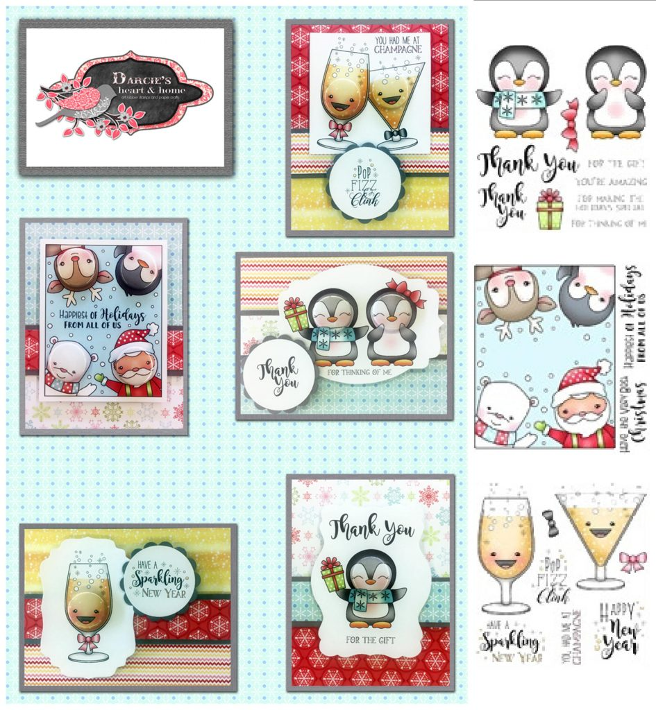 Darcies 2017-11 November w stamps