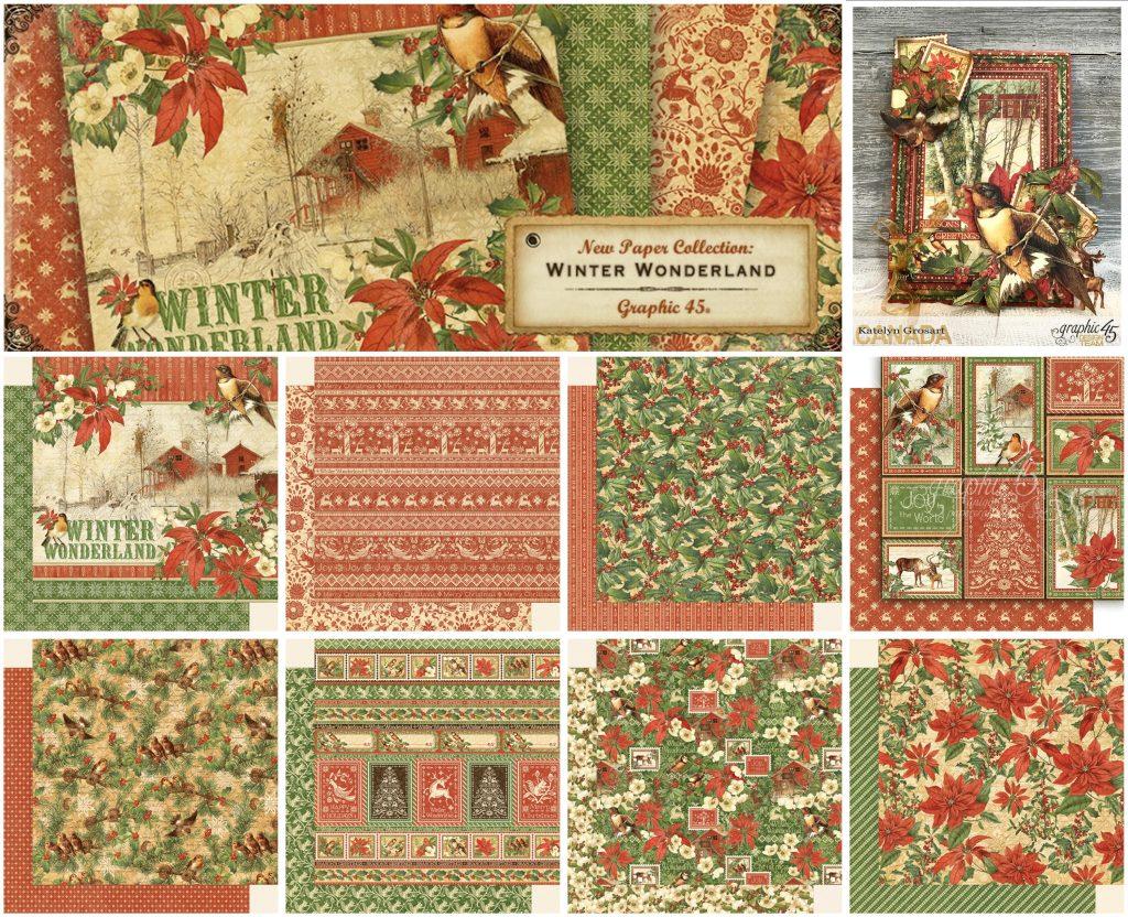 G45 Winter Wonderland collage