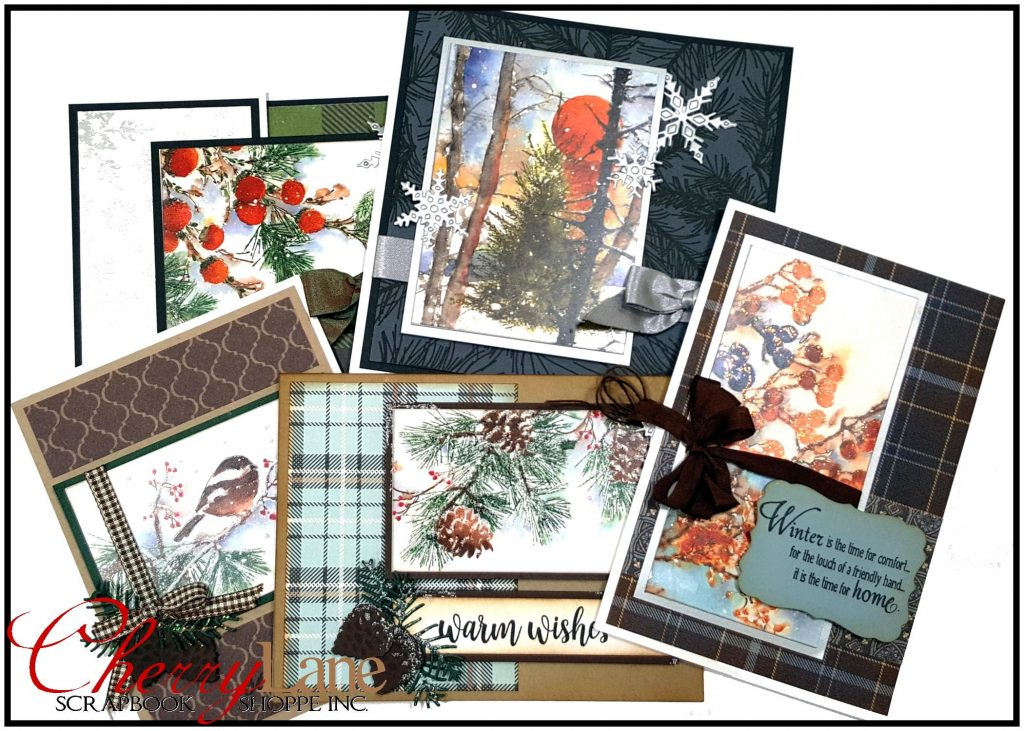 Winter Woodland Sticker Cards