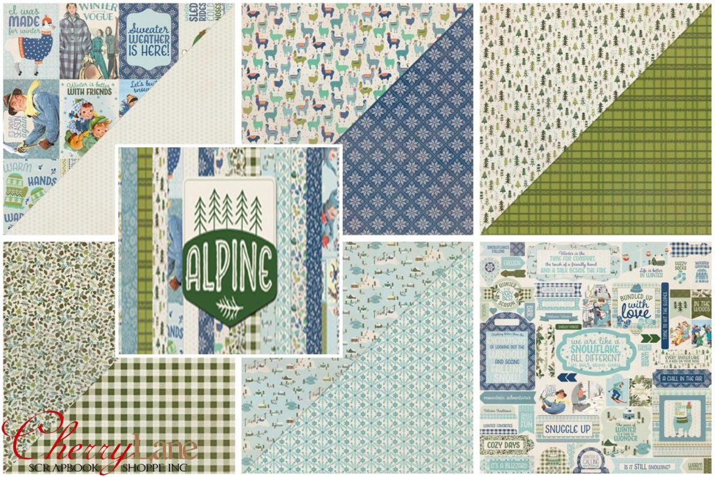 AU Alpine collage
