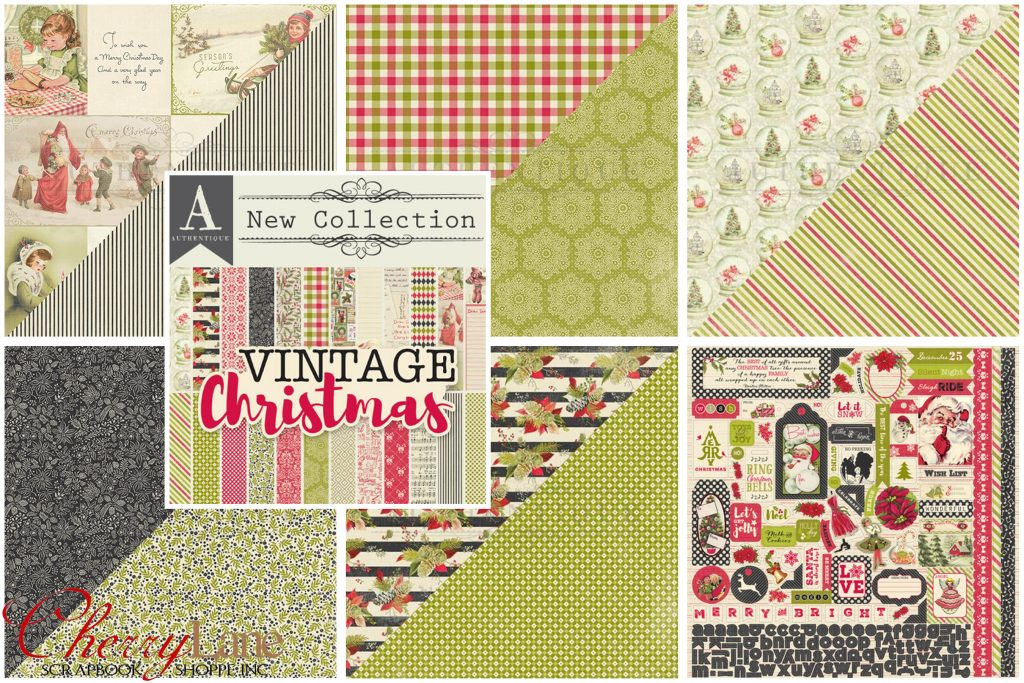 AU Vintage Christmas collage