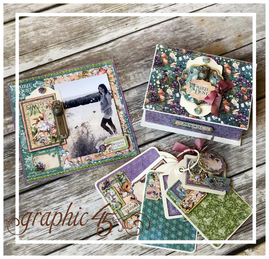 Fairie Dust Trinket Box Mini Album 2