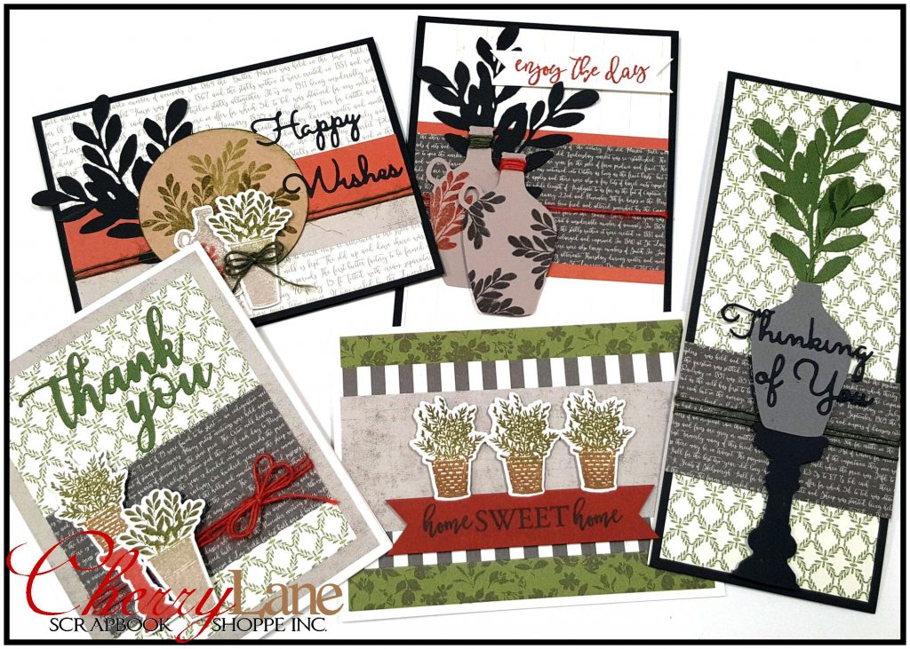 Rustic Market Cards