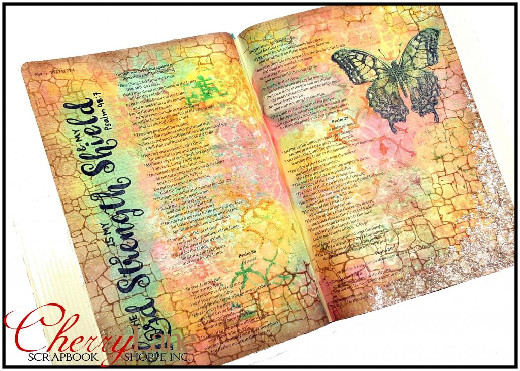2018-01 April PT 8 Mixed Media Bible Art Journaling sneak peek