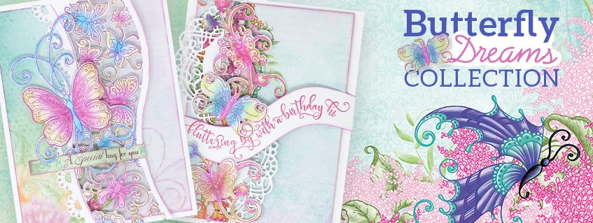 Heartfelt Creations Butterfly Dreams Collection banner