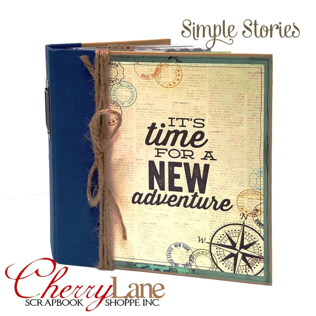 Simple Stories Travel Notes Pocket Binder 3