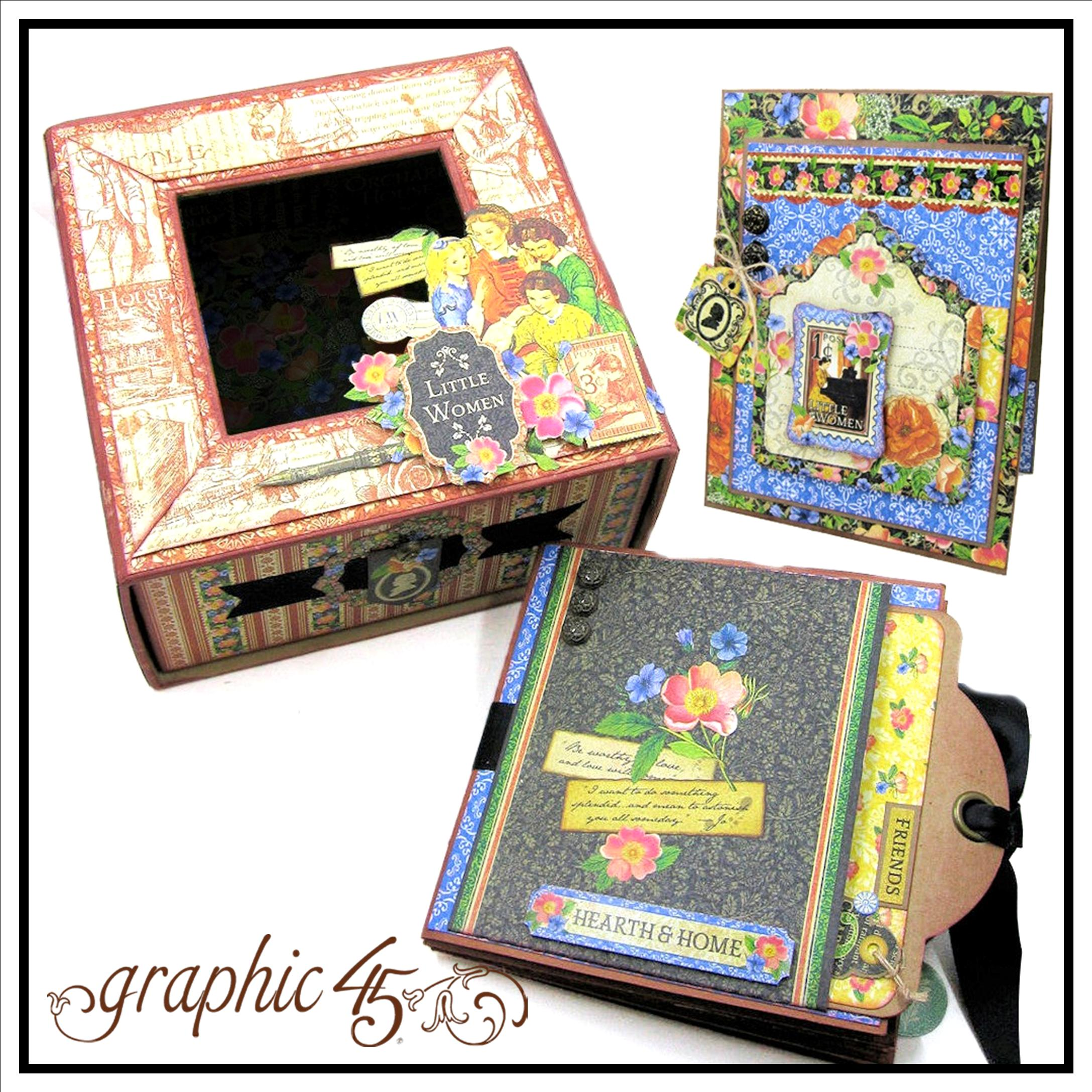 Little Women Folio Album Box