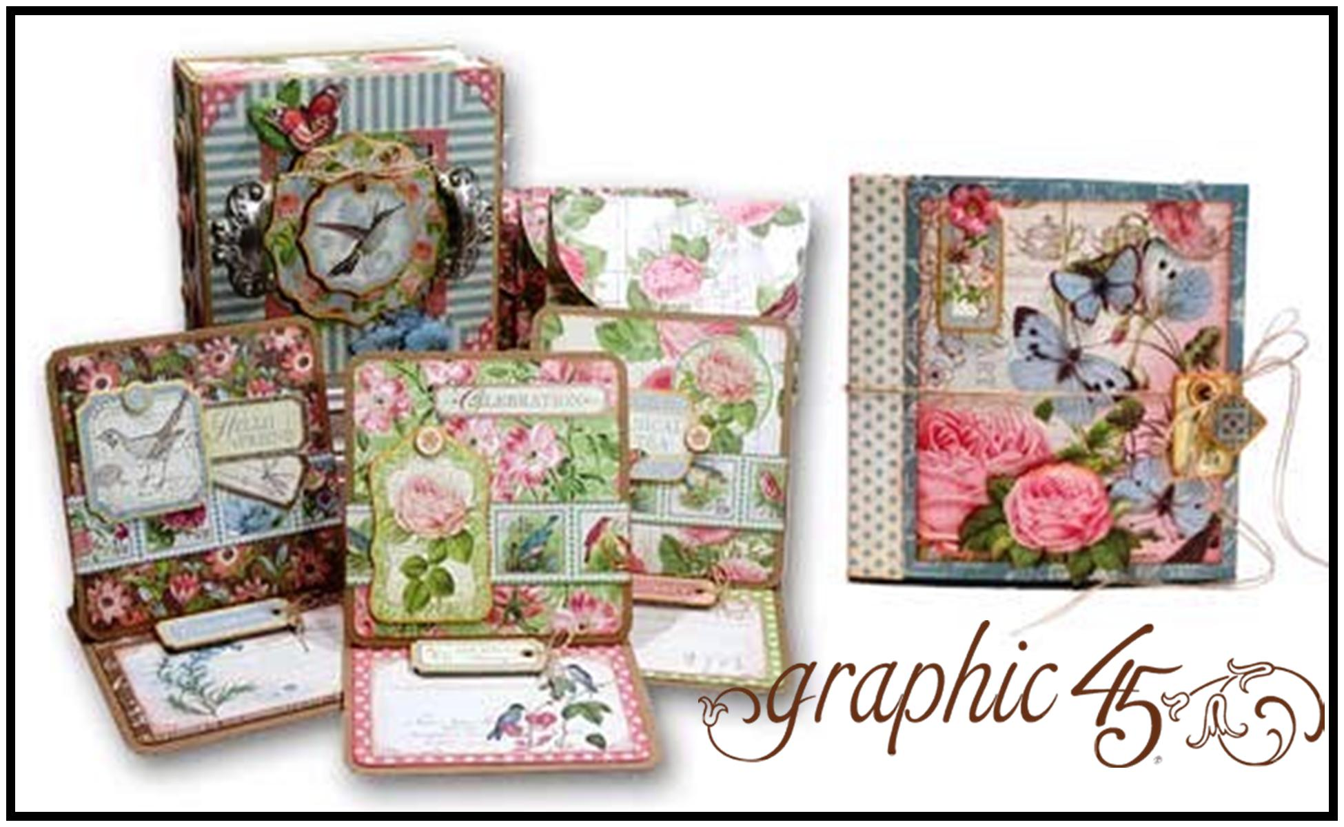 G45 Botanical Tea Box, Card Set, Waterfall Album 5