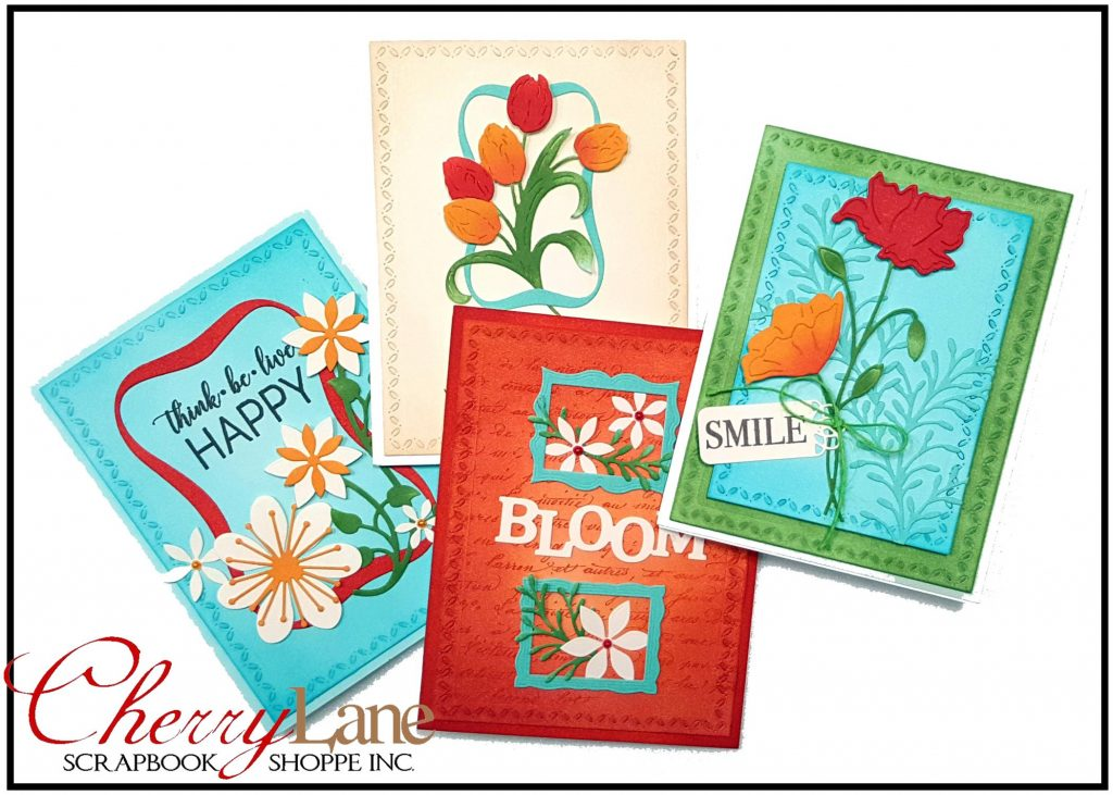 Penny Black Bodacious Blooms Cards dies