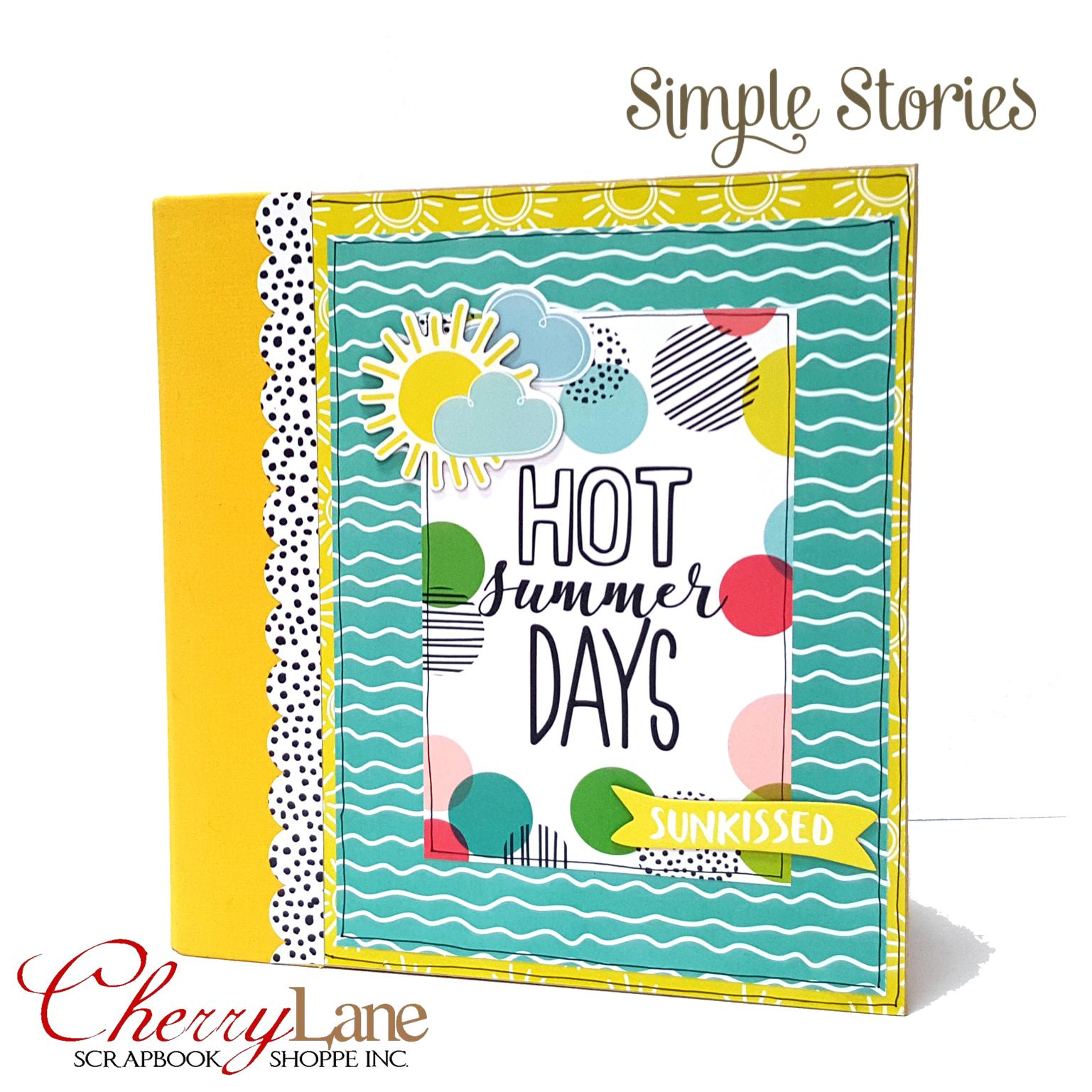 Simple Stories Hello Summer Pocket Binder