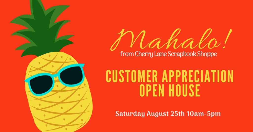 Customer Appreciation Open House 2018 - Event Cover