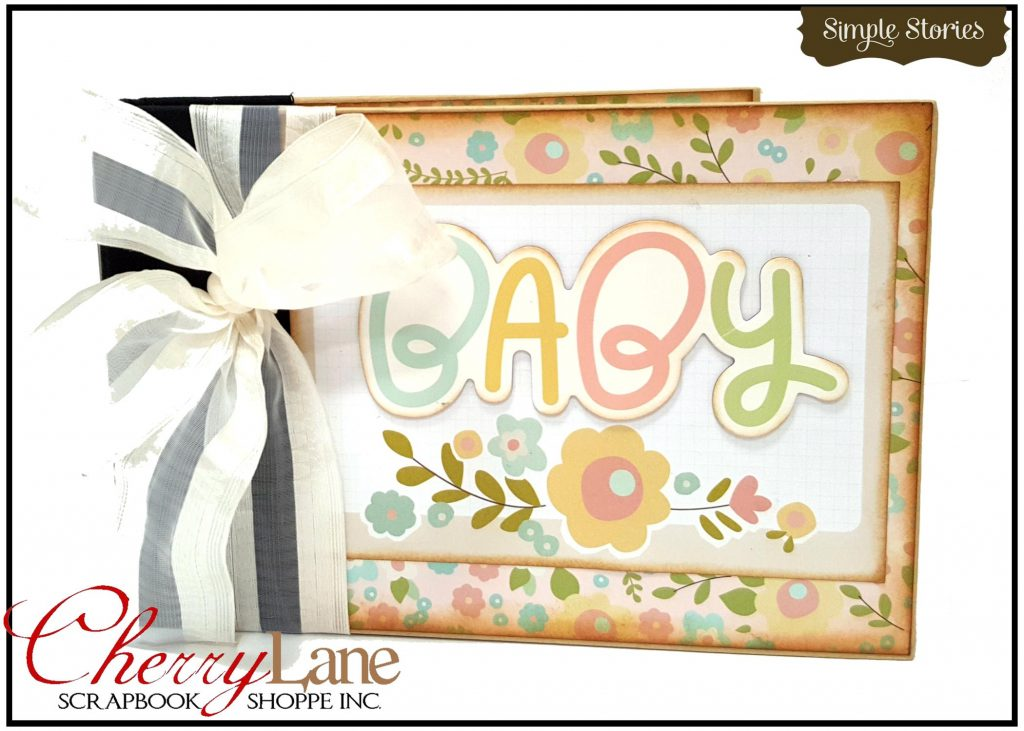 Simple Stories Oh Baby Binder Album