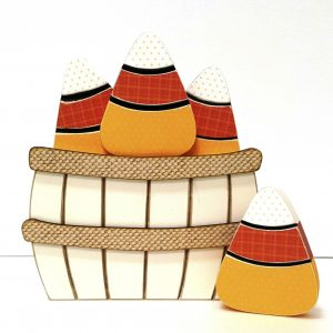 10 October Candy Corn square