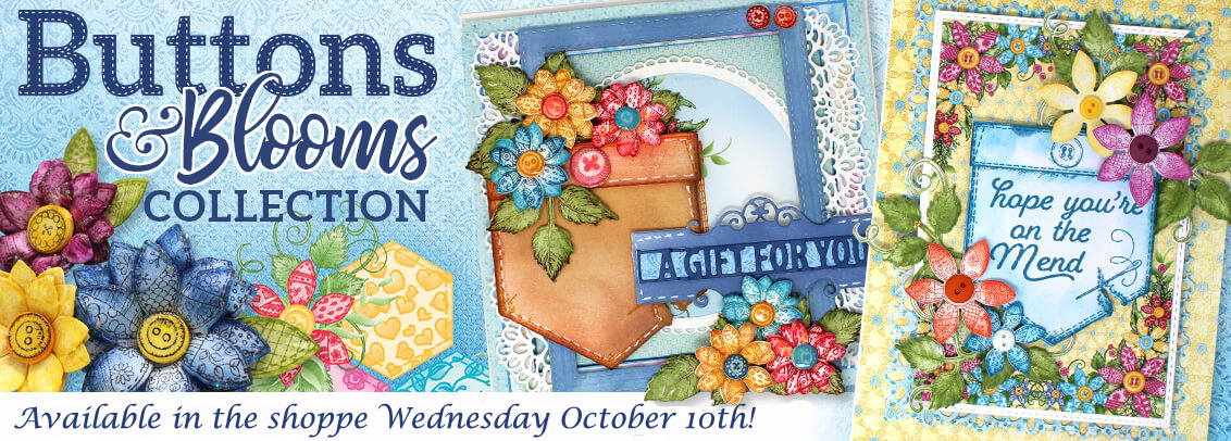 Heartfelt Buttons and Blooms banner