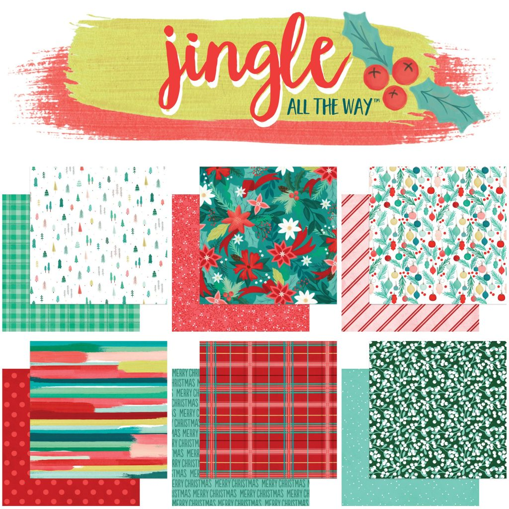 MME Jingle all the Way collage paper