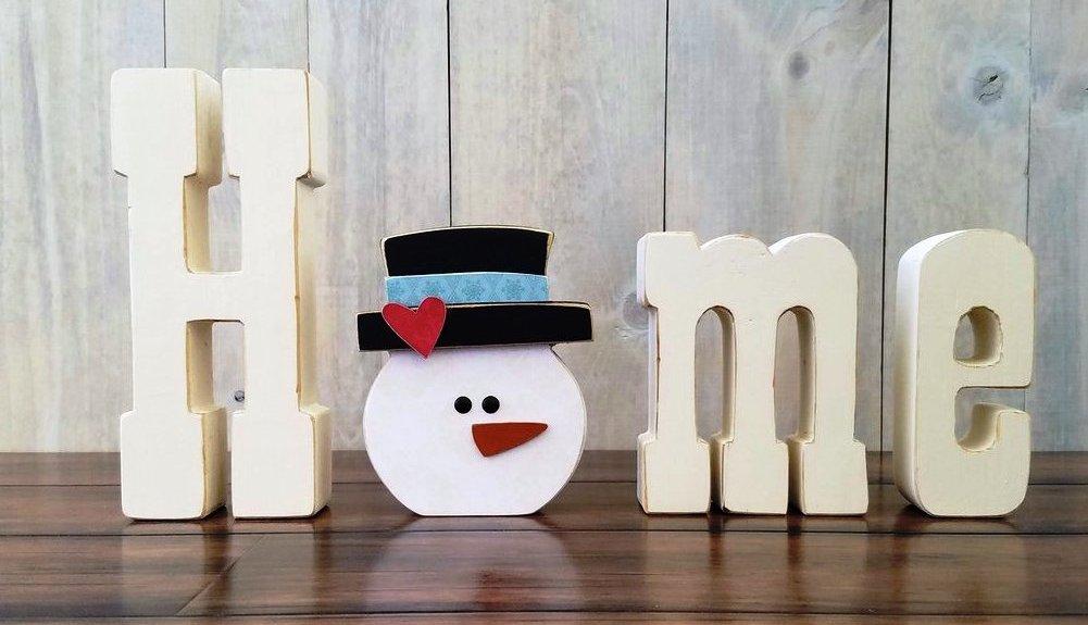 01 January Snowman home