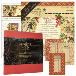 G45 12 Days of Christmas Album Gift Envelopes product kit