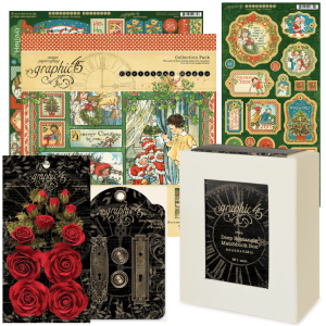 Graphic 45 Christmas Magic Lantern product kit