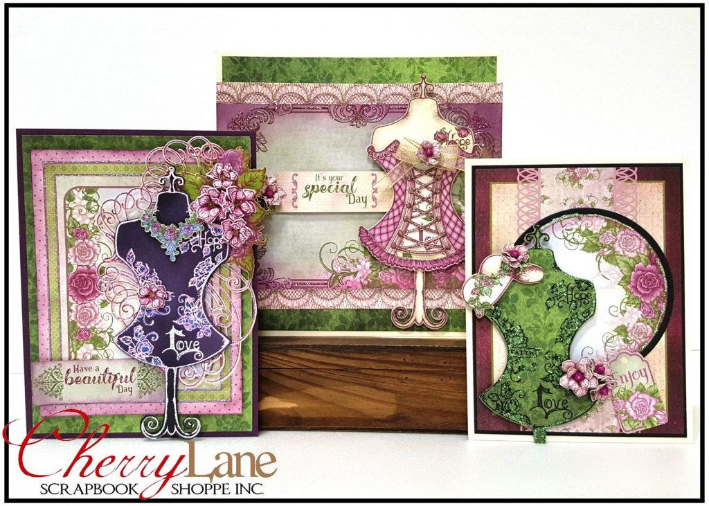 Floral Fashionista Cards